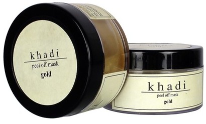 khadi gold peel off mask