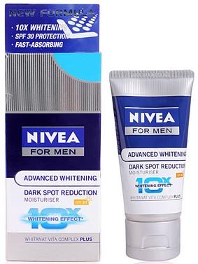 nivea for men advanced whitening dark spot reduction