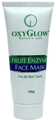 oxyglow fruit enzyme face mask