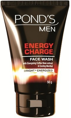 pond;s men energy charge face wash