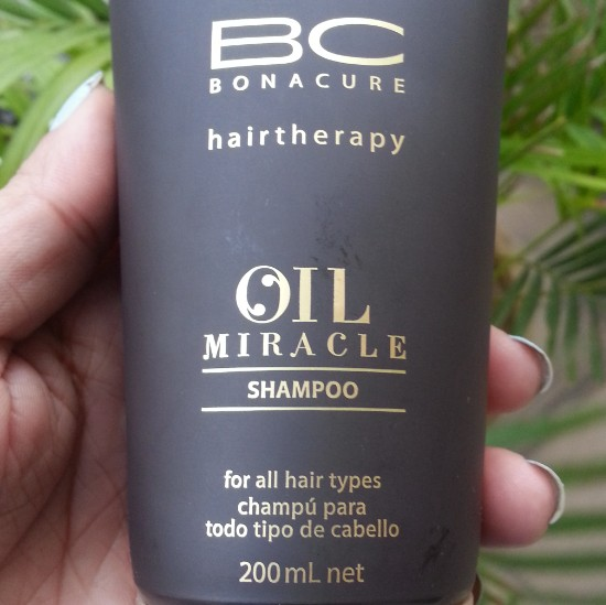 schwarzkopf professional bc bonacure oil miracle shampoo review1