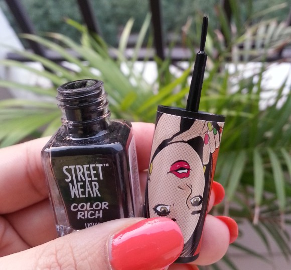 street wear color rich liquid eyeliner review 9