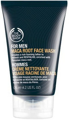 the body shop maca root face wash