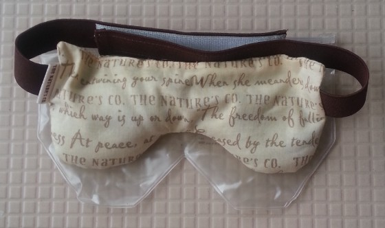 the nature's co cedarwood eye pillow review 1