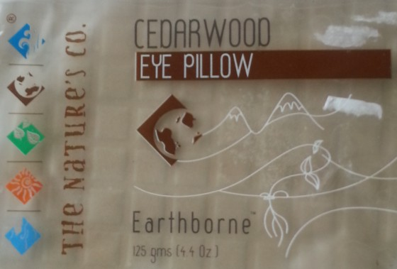 the nature's co cedarwood eye pillow review