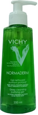 vichy normaderm anti imperfection deep cleansing purifying gel