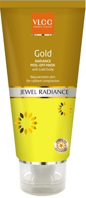 vlcc gold radiance peel off mask