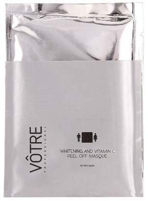votre whitening and vitamin c peel off masque