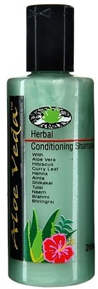 aloe veda herbal conditioning shampoo