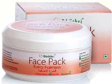 dhatri extra fairness face pack