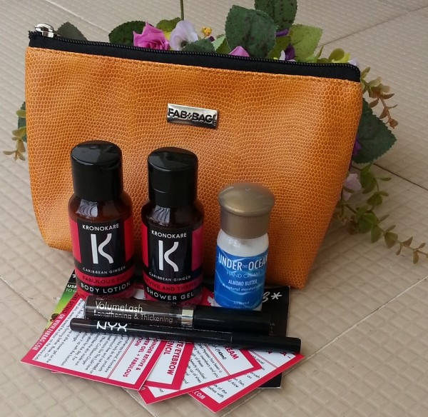 fab bag august 2014 review 1