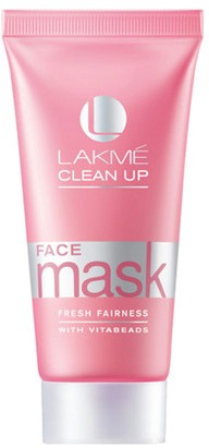 lakme clean up fresh fairness face mask