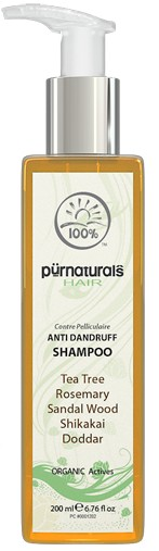 purenaturals anti dandruff shampoo