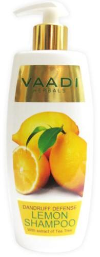 vaadi dandruff defence lemon shampoo