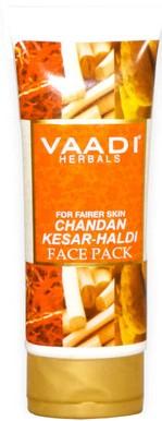 vaadi herbals chandan kesar haldi face pack