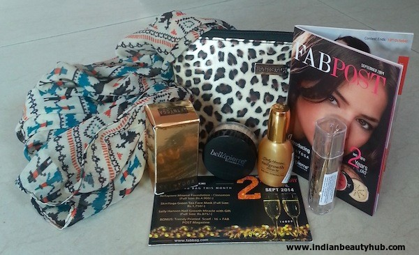 fab bag september 2014 review 2