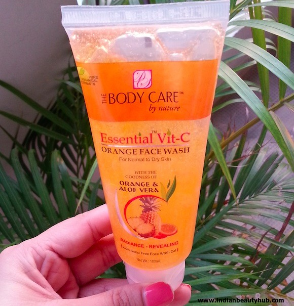 the body care essential vit-c orange face wash review 5