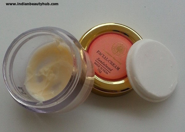 Forest Essentials Facial Cream Review 4
