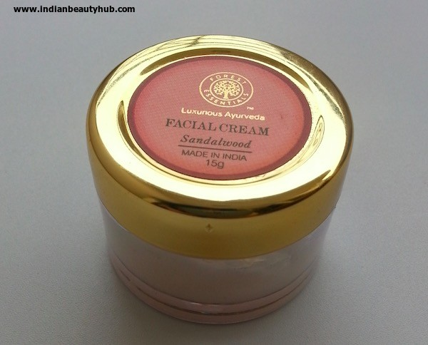 Forest Essentials Facial Cream Review 5