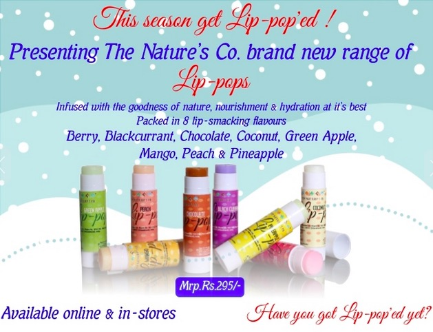 the nature's co lip pop price