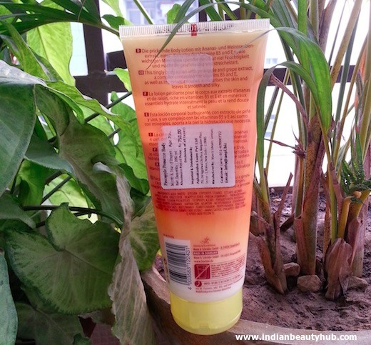 Fruttini Pineapple Prosecco Body Lotion Review