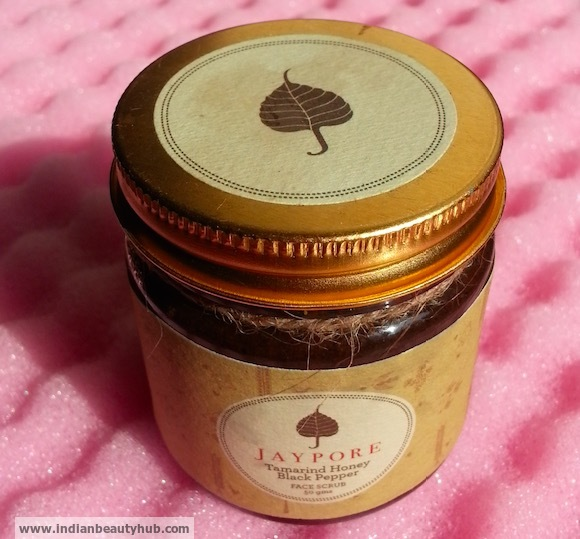 Jaypore Tamarind Honey Black Pepper Face Scrub Review 6