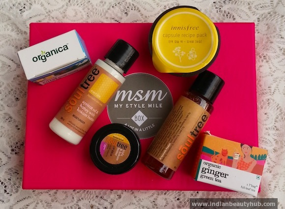 MSM Box January Review