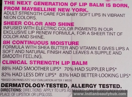 Maybelline Electro Pop Berry Bomb Lip Balm Review