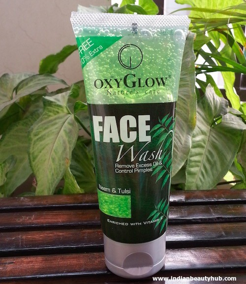 Oxyglow Neem & Tulsi Face Wash Review