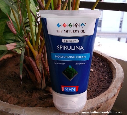 The Nature's Co. Spirulina Moisturizing Cream for Men Review 5