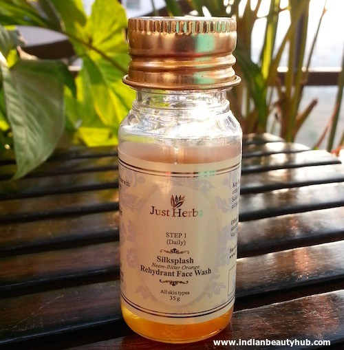 Just Herbs Silksplash Rehydrant Face Wash Review