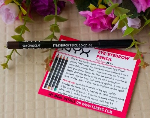 NYX Eye/Eyebrow Pencil Chocolat 902 Review