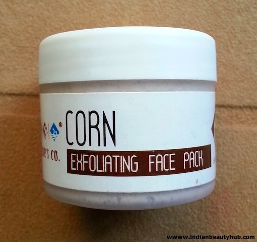 The Nature's Co. Corn Exfoliating Face Pack Review, Price