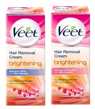 Veet Hair Removal Cream – Brightening