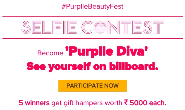 purplle Selfie Contest