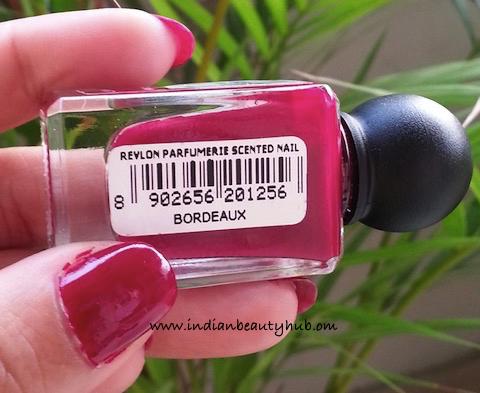 Revlon Parfumerie Scented Nail Enamel Bordeaux Review