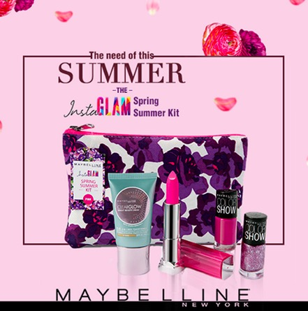 Maybelline Insta Glam Spring Summer Kit