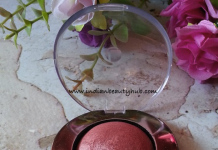 Lakme Absolute Cheek Chromatic Baked Blusher Review
