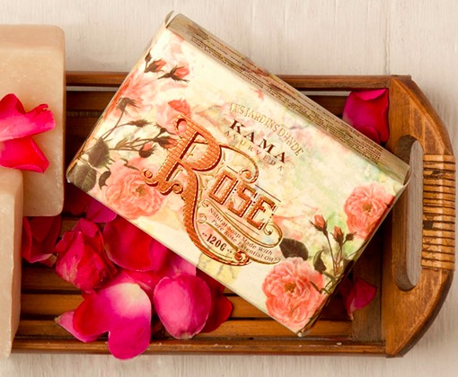 Kama Ayurveda Natural Rose Soap