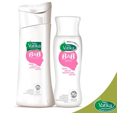 Vatika Brave & Beautiful Shampoo, Oil
