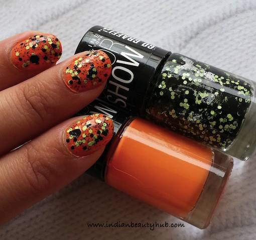 Maybelline Go Graffiti Unmellow Yellow Nail Paint Review 6