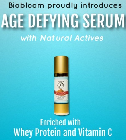 New Biobloom Age Defying Serum