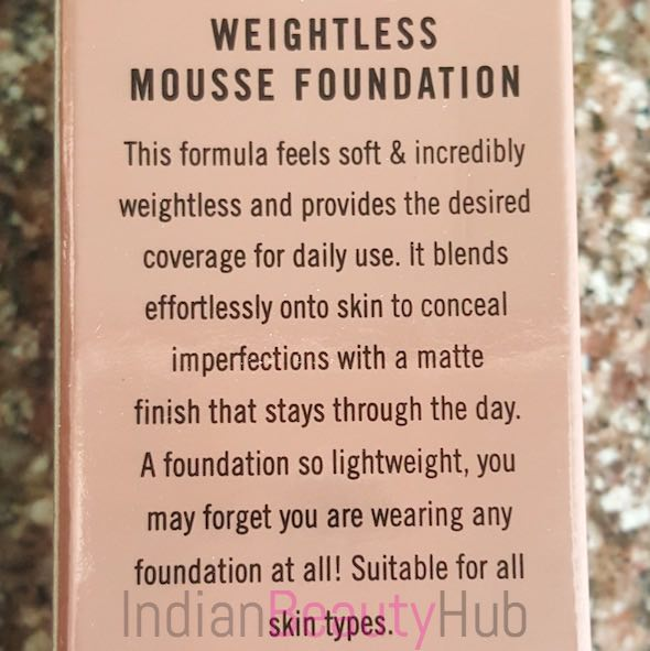 Lakme 9 to 5 Weightless Mousse Foundation Review_4