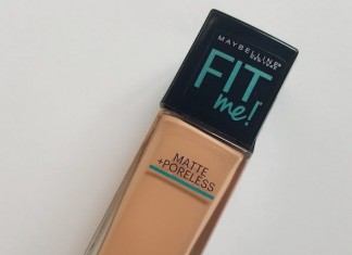 Maybelline Fit Me Matte + Poreless Foundation Review