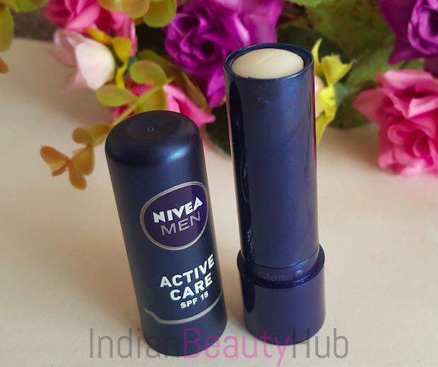 Nivea Men Active Care SPF 15 Lip Balm Review_2