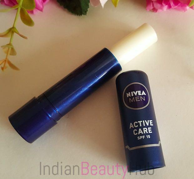 Nivea Men Active Care SPF 15 Lip Balm Review_3
