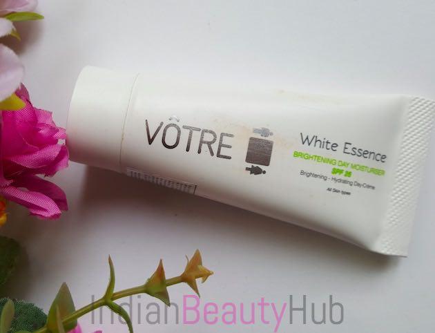 Votre White Essence Brightening Day Moisturiser SPF 25 Review_4