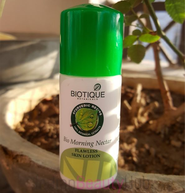Biotique Bio Morning Nectar Flawless Skin Lotion Review_6