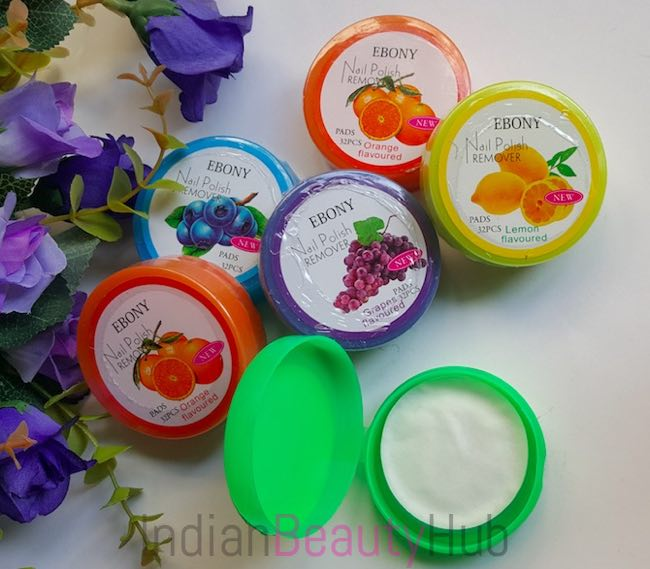Ebony Nail Polish Remover Pads Review_4
