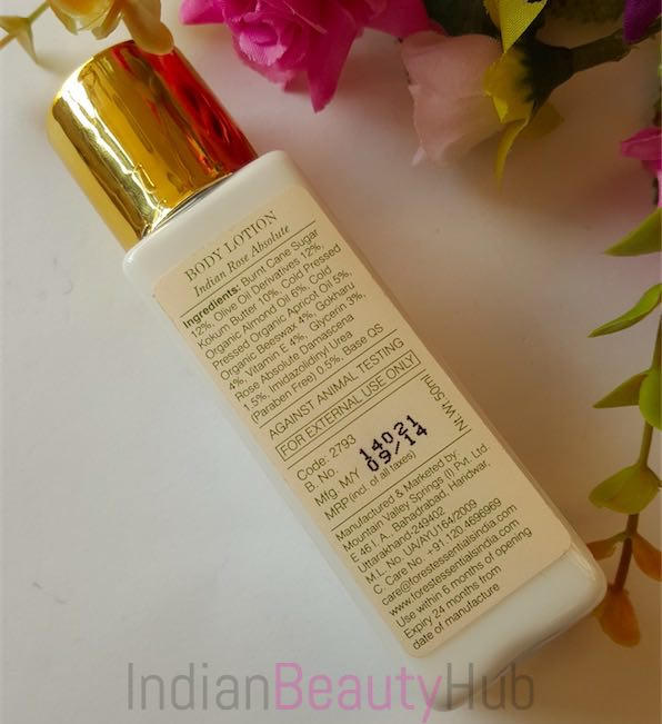 Forest essentials ultra rich body lotion review